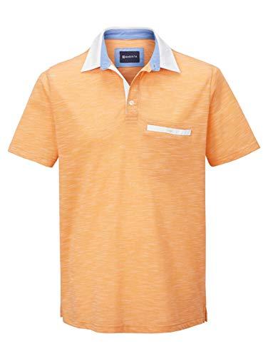 BABISTA Herren Polo-Shirt – Kurzarm-Oberteil aus Baumwoll-Mix in zweifarbiger Optik, T-Shirt mit Hemd-Kragen, Polo-Hemd in Mintgrün, Gr. 48, Gelb, Gr. 50