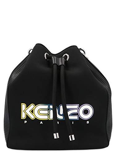 Luxury Fashion | Kenzo Dames FA52SA401F0199 Zwart Polyester Schoudertassen | Lente-zomer 20