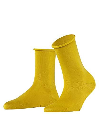 FALKE Damen Socken Active Breeze, Lyocellmischung, 1 Paar, Gelb (Deep Yellow 1007), 35-38