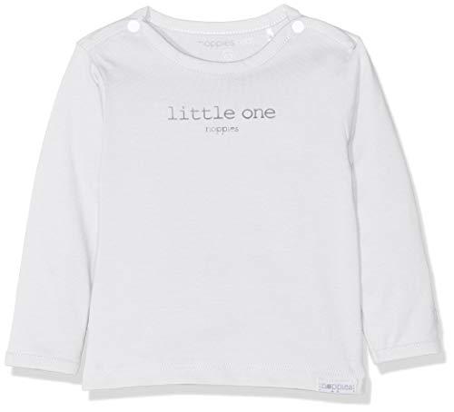 Noppies Unisex Baby U Tee ls Hester Text T-Shirt, Weiß (White C001), 62