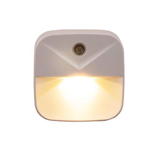 Nueva Venta Caliente Lámpara De Cabecera De Inducción Inteligente Nuevo Regalo Creativo Extraño Enchufe De Luz Led Ahorro De Energía Control De Luz Luz Nocturna Luz Cálida 60 * 23 * 60Mm