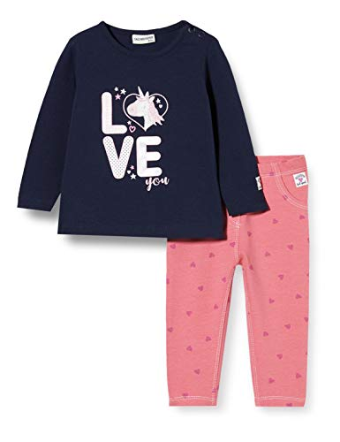 Salt and Pepper Set Dream Big Love Conjunto para bebés y niños pequeños, Navy Old Rose, 92 cm
