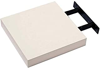 spot on dealz High Gloss Wall Floating Shelf/Shelves White/