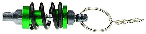 Seupeak 1 stücke Keychain for Motorrad Stoßdämpfer Kreative Legierung mit Strass Keychain Anhänger Keychain Schlüsselanhänger Zubehör Mädchen Geschenk Dekoration Multicolored 6.2x4,5 cm