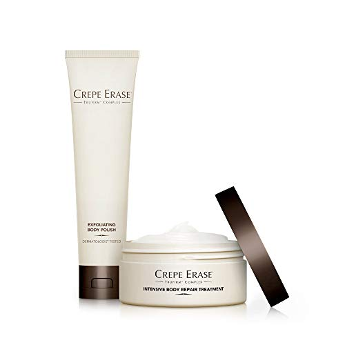 Crepe Erase  Trial Size Body Duo  TruFirm Complex  Intensive Body Repair Treatment and Exfoliating Body Polish