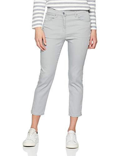 Raphaela by Brax Damen Skinny Skinny Jeans LESLEY S | Super Slim | 6207, Grau (Light Grey 3), 40 (Herstellergröße: 14R)