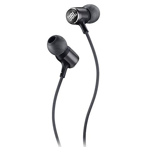 JBL Live 100 in-Ear Headphones with Remote - Black