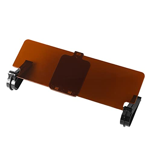 HHKX100822 Car Visor Sunshade Extender Tfy Anti-Glare Sun Visor Extender Window Sunshade and UV Rays Blocker, Visera Parasol Y Antireflejante para Asiento del Conductor O Pasajeros del Coche A