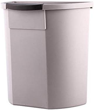 Huis Opknoping Vuilnisbak Keukenkast Deur Plastic Afvalbak Grote Muur Gemonteerde Vuilnisbak Voor KastBadkamerSlaapkamerKantoorCampingSilver