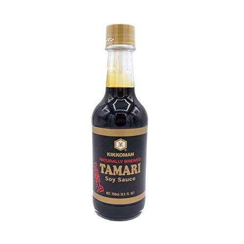 Salsa Tamari Kikkoman original de Japón - 250 ml