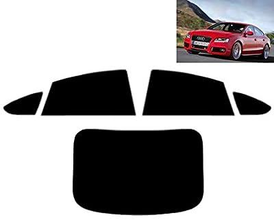 Film Solaire Prédécoupé Teinté pour-Audi A5 Sportback 5-Portes 2011-. Vitres Arrière & Lunette