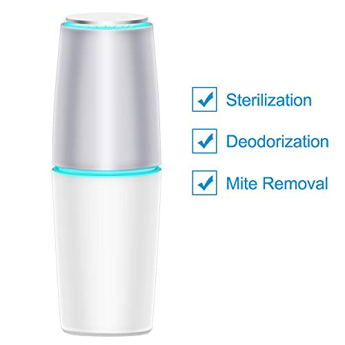 Fantastic Prices! TOMOLOO AMAZKER Mini Air Purifier for Home Bedroom Office Pet Room Odor Eliminator...