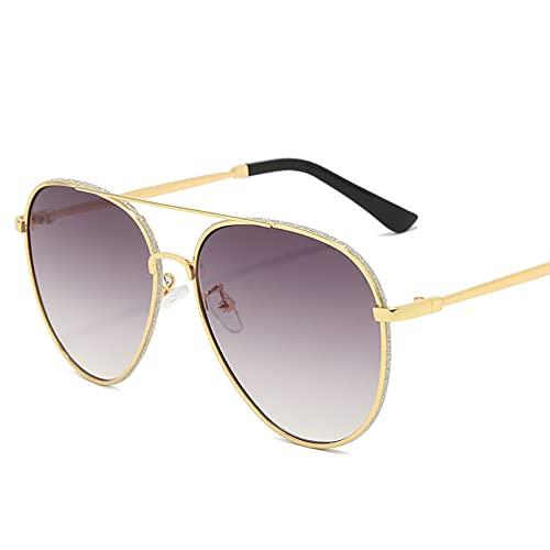 BAJIE Gafas De Sol, Gafas De Sol De Mujer, Gafas De Sol De Aviador Rosa con Purpurina, Gafas De Conducir, Gafas De Sol para Mujer