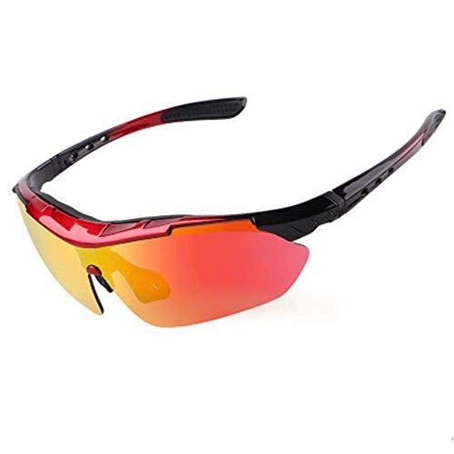 ZLININ Y-longhair - Gafas de sol deportivas para ciclismo, ciclismo, ciclismo, pesca, conducción, béisbol, correr, senderismo, ciclismo, conducción (color multicolor, talla única)