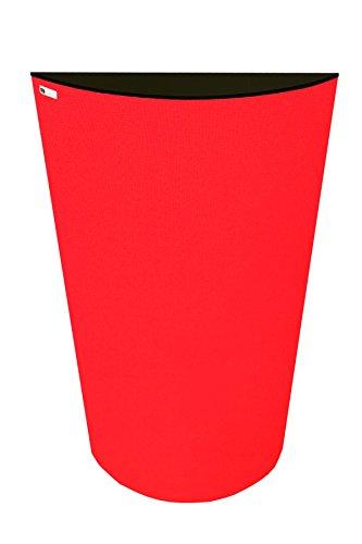 GIK Acoustics 700461538615evolución polyfusor-rojo