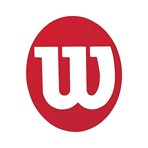 Wilson Sporting Goods Plantilla de plástico, Rojo
