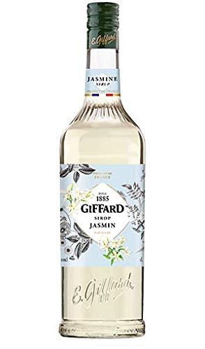 GIFFARD Bar Sirup 1,0 l - Sirup JASMIN - zum Mixen / Mixgetränke / Cocktails