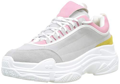 Coolway Damen Shilar Sneakers, Mehrfarbig (Mud 990), 37 EU