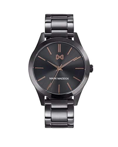 MARK MADDOX - Reloj Acero IP Gris Brazalete Sr Mm - HM7120-17