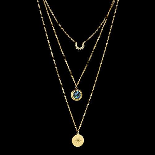 MIKUAU collarModa Estilo gótico Collar de Cuello Mariposa Colgante de suspensión Hombres y Mujeres Pareja Mujeres Collar Accesorios de joyería