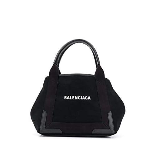 Balenciaga Luxury Fashion Donna 339933AQ38N1000 Nero Cotone Borsa A Mano | Autunno-inverno 20