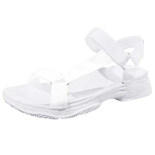 Classic Slide, Sandalias de Descubierta Unisex Adulto Zapatilla Flip Flop para Mujer Borroso Mullido Confortable Controles Sandalias con Punta Abierta