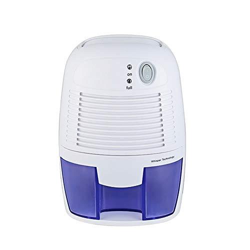 Luftentfeuchter Mini 500ml Entfeuchter gegen Feuchtigkeit, für Schmutz und Schimmel zu Hause, Schlafzimmer, Kellerräume, Schrank, Wohnwagen, Büro