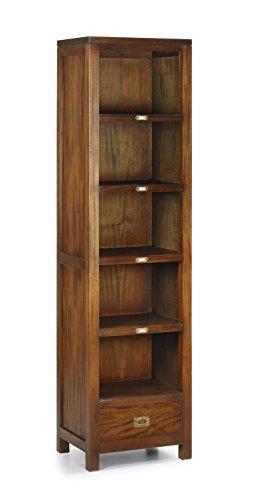 Librerías-Estanterías Estilo Colonial : Colección FLAMINGO pequeña de 50x190x40cms.