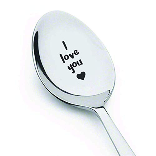 I Love You Spoon gifts for women Love Romantic Gift Cute Gift valentine's day Gifts Under 15 For Women Under 15 For men