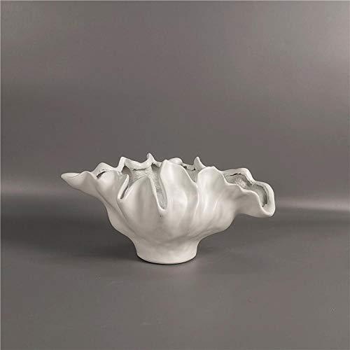 YAOHEHUA Vase Design Contemporain Résine Fleur Insert Petit Vase Mariage Amélioration De L'Habitat Hôtel Réception Table Top Décoration Florale
