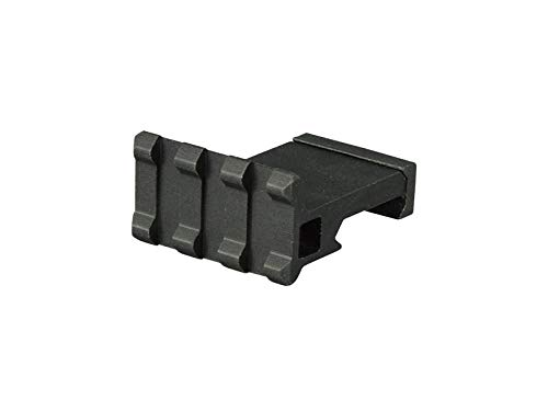 """Low Profile Tactical Picatinny/Weaver 90 Degree Angle Mount, 1.37"""" Long with 3 Slots"""
