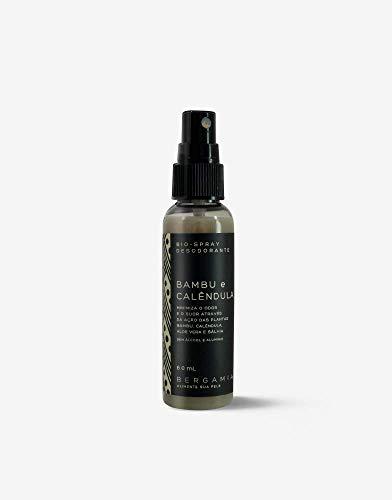 Bio-Spray Desodorante de Bambu e Calêndula, Bergamia