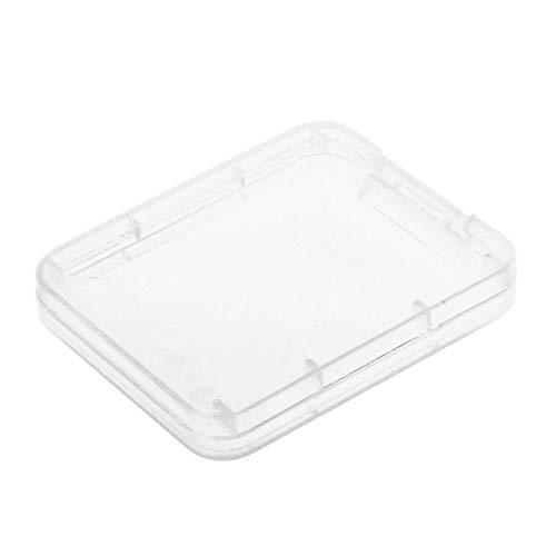 Ogquaton 10 stücke Kunststoff speicherkarte Box Fall sdhc xd mmc cf aufbewahrungskoffer transparent bequem kreativ und nützlich