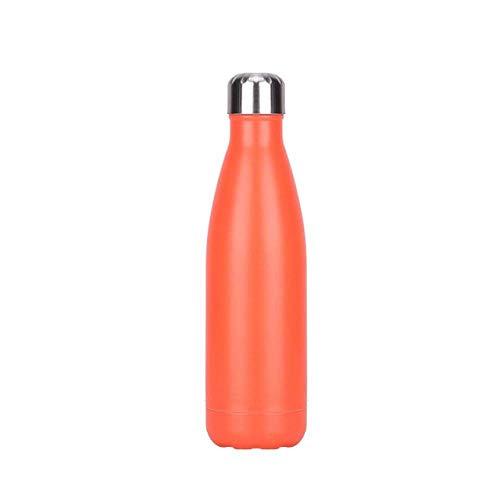 Wzmdd 500ml buiten geïsoleerde vacuüm Flask Sport Gym Camping Wandelen Thermos Dubbele Muur roestvrij staal Cadeaufles