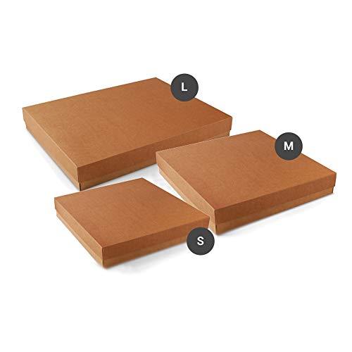 Selfpackaging Cajas de cartón para álbumes de Fotos. Tus Recuerdos Son valiosos - Pack de 50 Unidades - M
