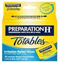 Preparation H Totables Irritation Relief Wipes - 10 Ct Thank You to All The patrons We Hope That he has gained The Trust from You Again The Next time The Service