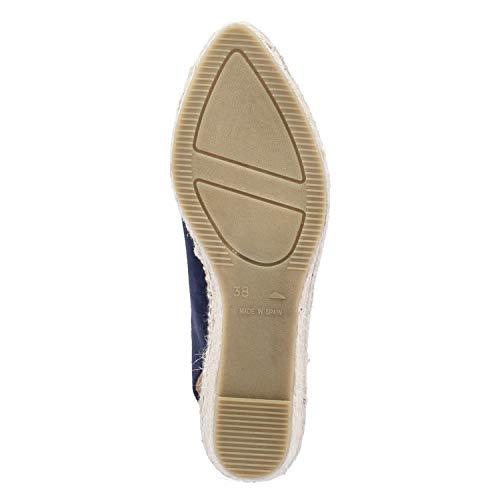 Kanna Sandaletten Plana Größe 41 EU Blau (Blau) - 6