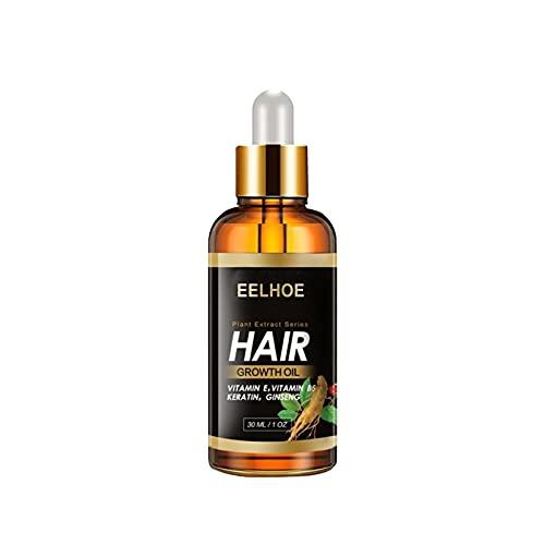 Herbal Essential Argan Oil Ginger Fast Hair Growth Serum Essential Oil Preventing Hair Lose Liq 30ml