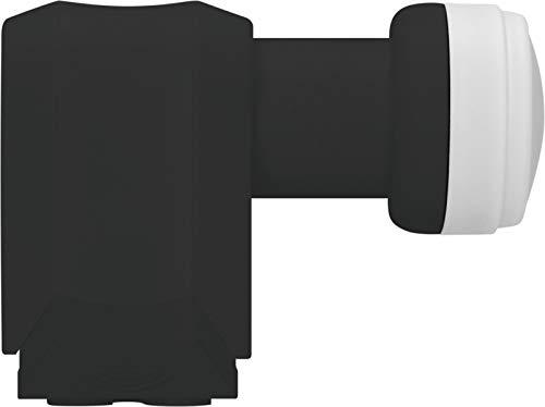 TechniSat Universal-Quattro-LNB mit 40mm Feedaufnahme (Multischalterbetrieb für viele Teilnehmer, kein direkter Anschluss von Empfangsgeräten), Schwarz