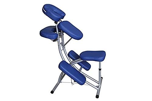 Chaise de massage ecoposturale bleue