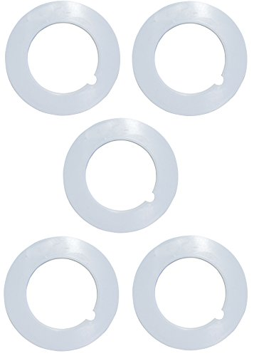 """ZVac 5 Pack of Pipe Collars for Central Vacuums Compatible Replacement for All Central Vacuum Systems with 2"""" OD CVac Pipe."""