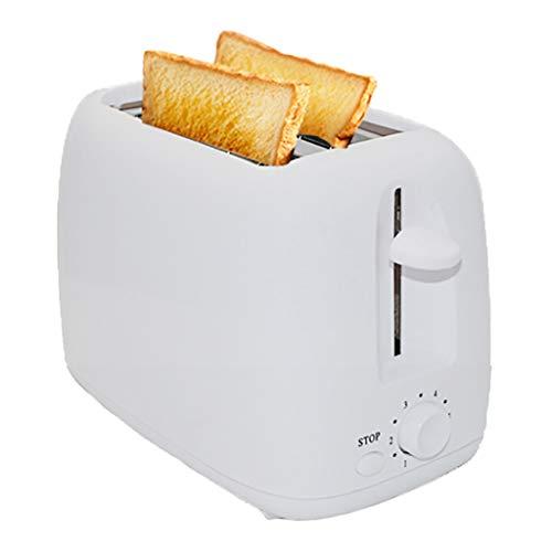 Tostadora 2 Slice Toaster, Pequeño Tostadora Inicio compacto panadería pan desayuno Cafetera, 6 Pan Configuración de sombra, extra ancho for tostar, simples de la casa de múltiples funciones Tostadora