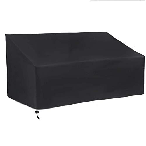 Silla muebles de patio 120x66x73x84cm, cubierta de asiento profunda para salón resistente, impermeable, lluvia, nieve, polvo, viento, para todos los climas, para patio trasero, veranda, césped