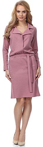Merry Style Damen Kleid MSSE0003 (Puderrosa, L)