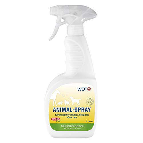 Biodor Pet Animal Hygiene Spray 750ml Geruchsentferner Hund