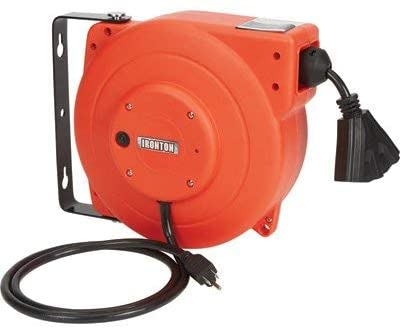 Ironton Retractable Extension Cord Reel Sales results No. Fashion 1 - Triple Tap 3 12 40ft.