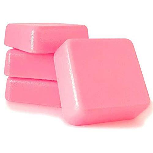 Cera caliente Cera depilatoria caliente profesional 1 kg cera solido para pieles sensibles, áreas faciales (1KG-Rosa)
