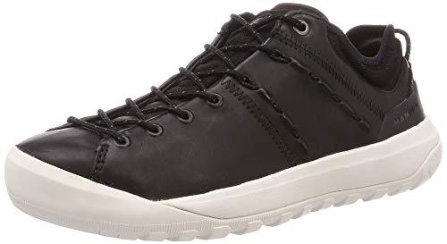 Mammut Damen Zapatilla HUECO Advanced Low Sneaker, Black/Bright White, 38 2/3 EU
