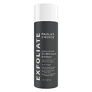 Paula's Choice Skin Perfecting 2% BHA Liquid Exfoliant - Face Exfoliating Peel Fights Blackheads, Breakouts & Enlarged Pores - with Salicylic Acid - Combination, Oily & Acne Prone Skin - 118 ml from Paula's Choice LLC