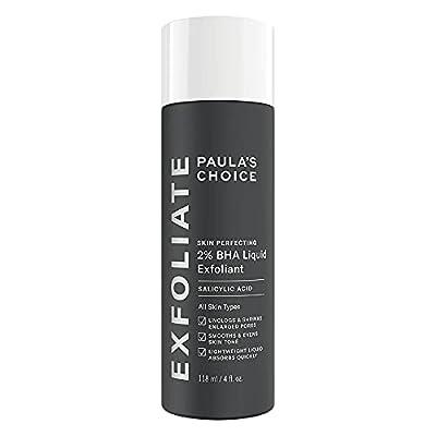 Paula's Choice Skin Perfecting 2% BHA Liquid Exfoliant - Face Exfoliating Peel Fights Blackheads, Breakouts & Enlarged Pores - with Salicylic Acid - Combination, Oily & Acne Prone Skin - 118 ml from Paulas Choice Llc